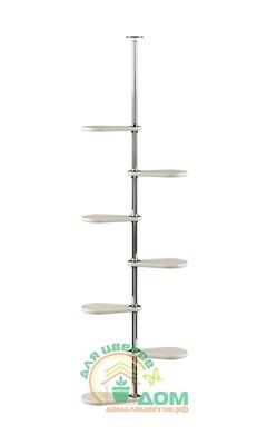 Распорная подставка для цветов на подоконник «Гортензия-7»