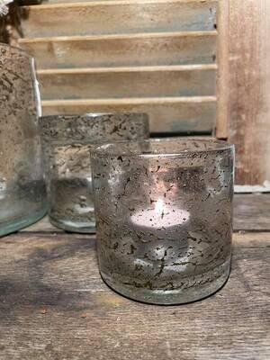 Still Glas theelichthouder 8x8cm