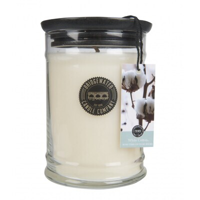 Bridgewater kaars White Cotton 500gr