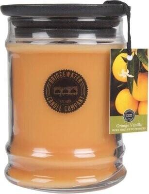 Bridge Water Candle Company Geurkaars Vanille Orange 500gr