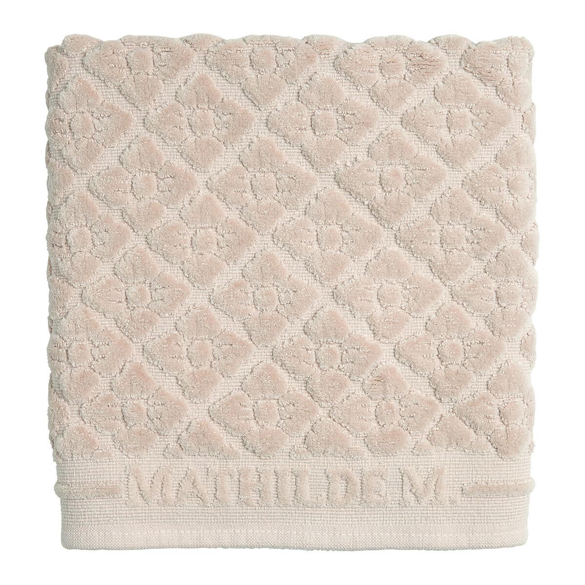 Badmat Mathilde M Florale rose