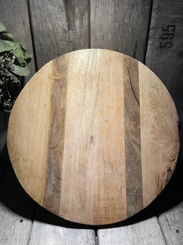 Ronde houten plank