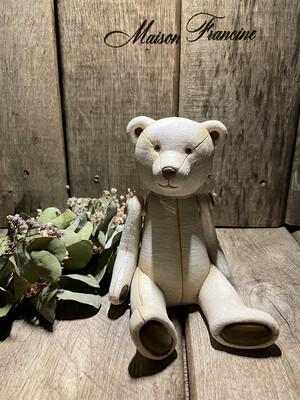 Teddy beer Decoratie figuur Clayre en Eef