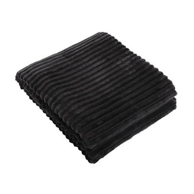 Plaid Francine 150x200cm Black