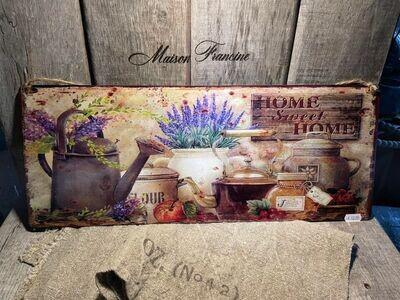 PLAAT HOME SWEET HOME+GIETERS