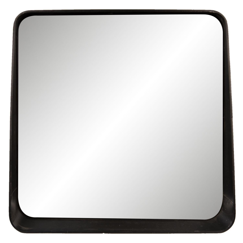 Spiegel metaal zwart- Clayre en Eef