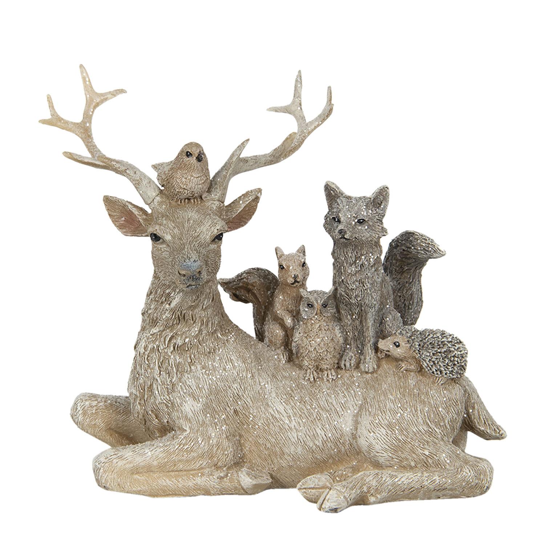 Kerst decoratie diertjes