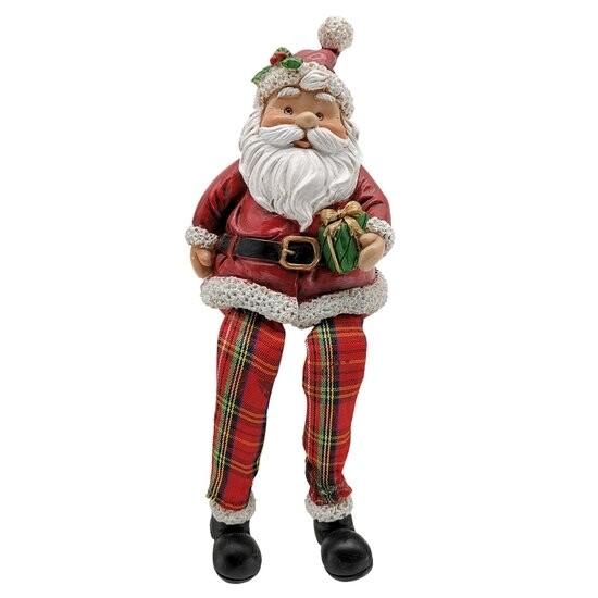 Kerstman met bengel beentjes