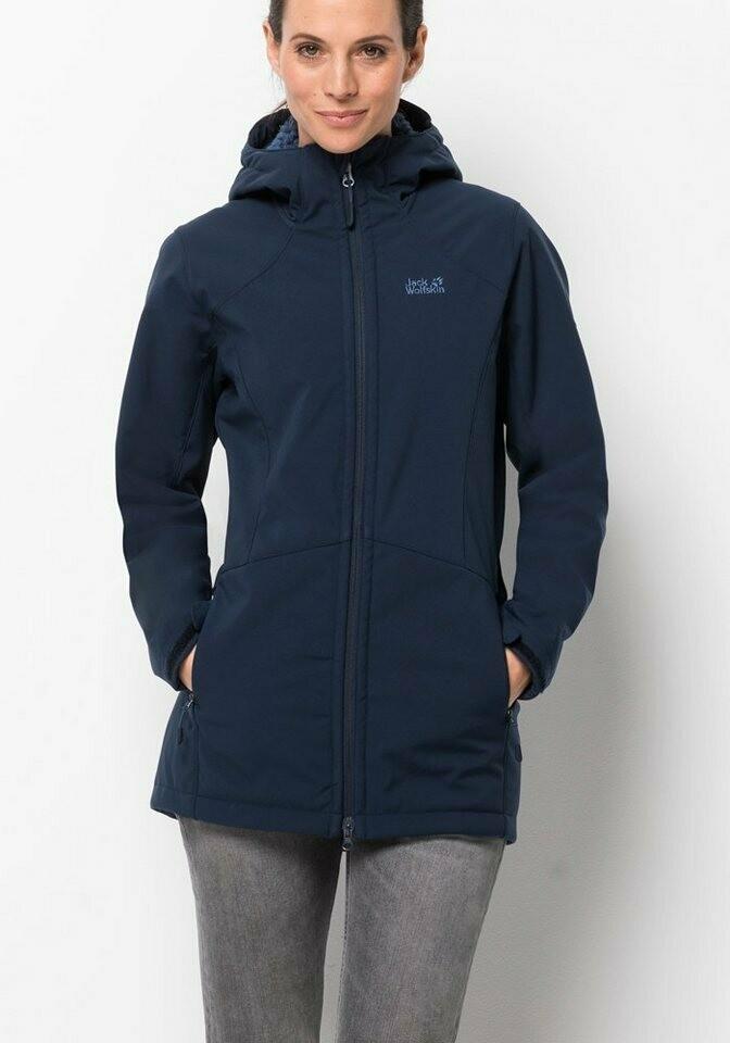 Пальто из софтшелла Rock Valley Coat W