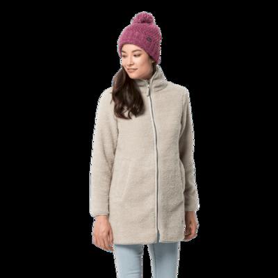 Пальто флисовое HIGH CLOUD COAT W
