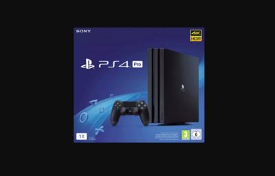 SONY Playstation 4 Pro 1TB Jet Black Standalone