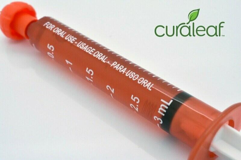 Rainbow C408 CBD Syringe 8536 - 3mL (Curaleaf)
