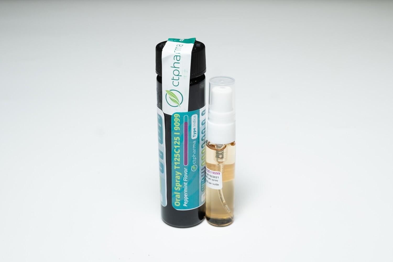 Oral Spray T125C125 I 9099 Peppermint Flavor - 5mL (CTPharma)