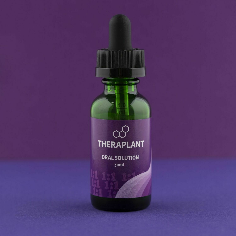 CBD1:1 C875T887 9393 - 30mL Oral Solution (Theraplant)