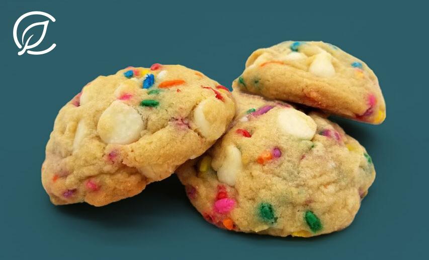 Sprinkle Cheesecake Cookies 10211 Edible - 3 Pack (Curaleaf)