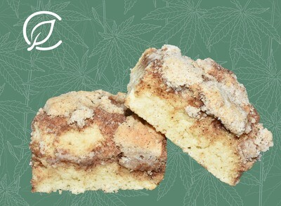 Coffee Cake Bars 10228 Edible - 2 Pack (Curaleaf)