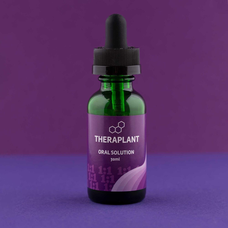 CBD1:1 C1040T936 11930 - 30mL Oral Solution (Theraplant)