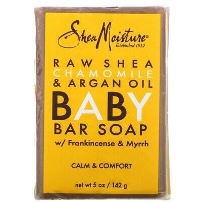 SheaMoisture Baby Eczema Bar Soap Raw Shea Chamomile & Argan Oil