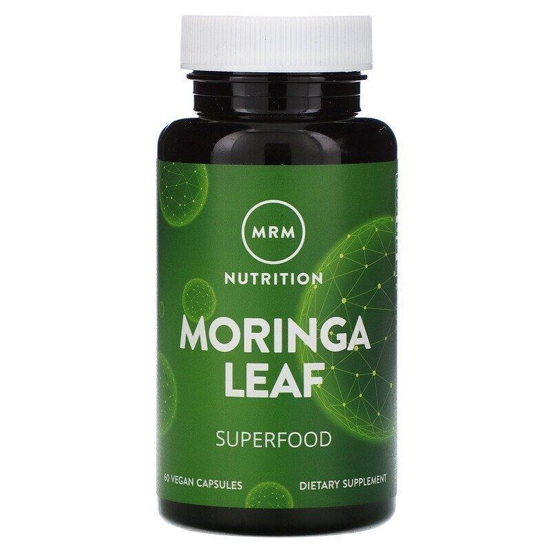 MRM, Nutrition, Moringa Leaf, 60 Vegan Capsules