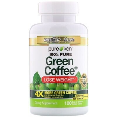 Purely Inspired, Green Coffee+, 100 Easy-to-Swallow Veggie Tablets
