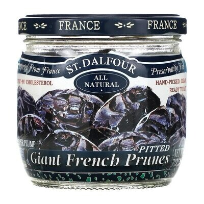 St. Dalfour, Giant French Prunes, Pitted, 7 oz (200 g)