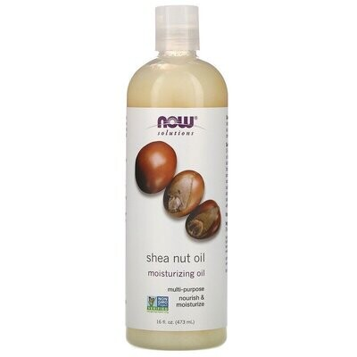 Now Foods, Solutions, Shea Nut Oil, Pure Moisturizing Oil, 16 fl oz (473 ml)