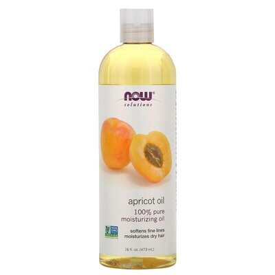 Now Foods, Solutions, Apricot Oil, 16 fl oz (473 ml)