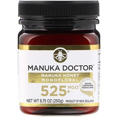 Manuka Doctor, Manuka Honey Monofloral, MGO 525+, 8.75 oz (250 g)
