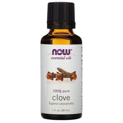Now Foods, Essential Oils, Clove, 1 fl oz (30 ml)