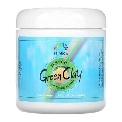 الطين الأخضر الفرنسي-قناع تجميلي للوجه