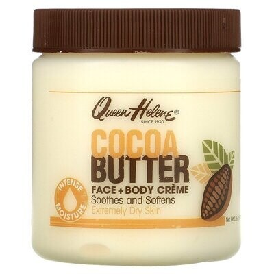 Queen Helene, Cocoa Butter Face + Body Creme, 4.8 oz (136 g)