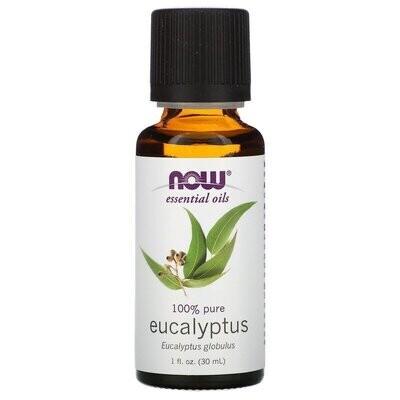 Now Foods, Essential Oils, Eucalyptus, 1 fl oz (30 ml)