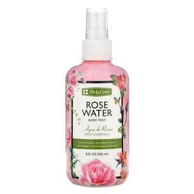 رذاذ الجسم بماء الورد