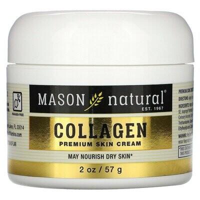 كريم كولاجين ممتاز للبشرة Mason Natural
