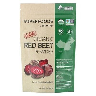 MRM, Raw Organic Red Beet Powder, 8.5 oz (240 g)