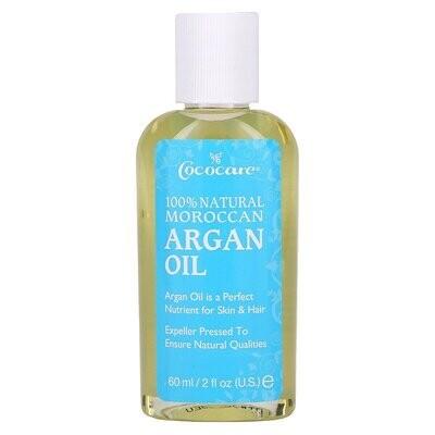 Cococare, 100% Natural Moroccan Argan Oil, 2 fl oz (60 ml)