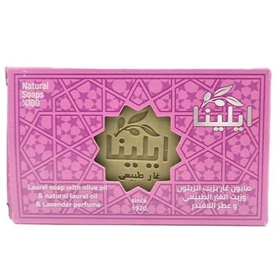 Gar soap with olive oil, laurel oil and lavender fragrance