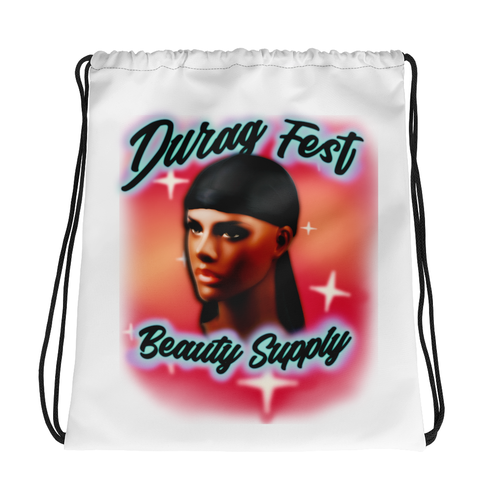 Beauty Supply Drawstring Bag