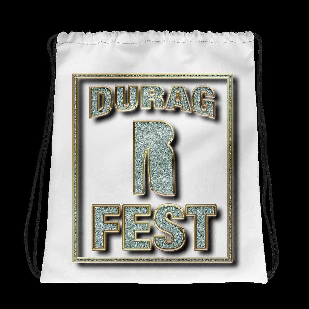 Bling Durag Fest Drawstring Bag