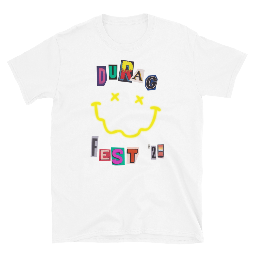 Durag Fest '21 T-Shirt - White
