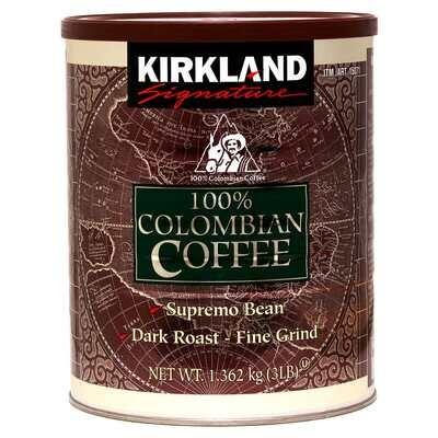Kirkland Signature Dark Colombian Ground Coffee
