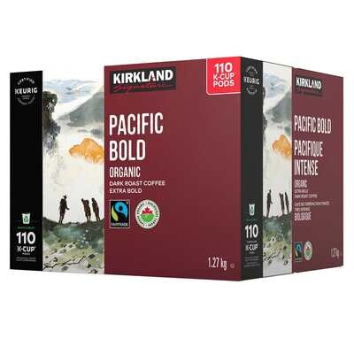 Kirkland Signature Organic Pacific Bold K-Cup Pods 110-Pack