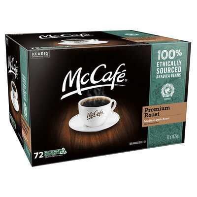 McCafe Premium Roast Coffee K-Cup Pods - 72 count