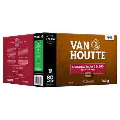 Van Houtte Original House Blend Coffee K-Cup Pods of 80
