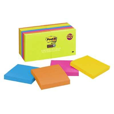 3M Post-It Notes Super Sticky 14 Packs