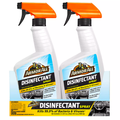 Armor All® One-Step Cleaner & Disinfectant Spray of 2 Pack