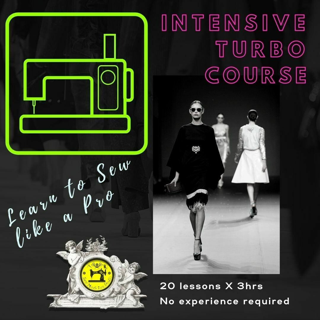 INTENSIVE Turbo Course (10-weeks | twice-a-week) MON +THUR EVENING GROUP! ONLY ONE FOR 2021 STARTS 12 AUG 6-9PM