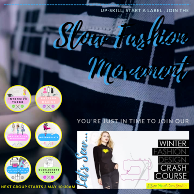 SUMMER Fashion Design Crash Course (Part-time | 6 Courses | Sign up early for Jan 2022 & save!