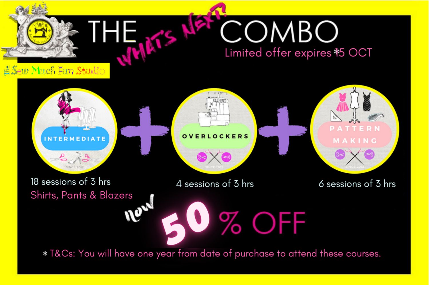 The What's Next Combo {5 Courses   Have one year access to complete your courses: T&Cs apply. Offer expires 15 OCT!