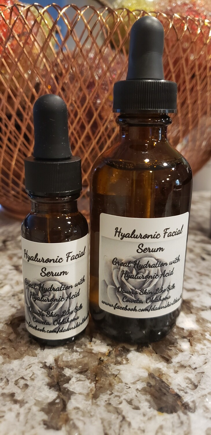 Hyaluronic Facial Serum 2 Ounce